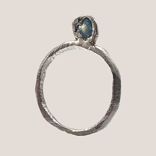 Wrapped Sapphire Ring