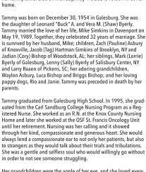 Tammy J. Simkins Obituary