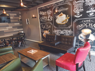 A Destination Spot for Ice Cream and Coffee