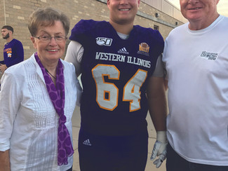Ricketts Turns His Focus from Gridiron to the Classroom at WIU
