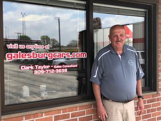 Business Spotlight... Clark Taylor of Galesburg Nissan