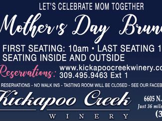 Kickapoo Creek Winery Events for 2021