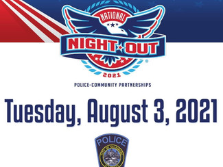 National Night Out Event Scheduled