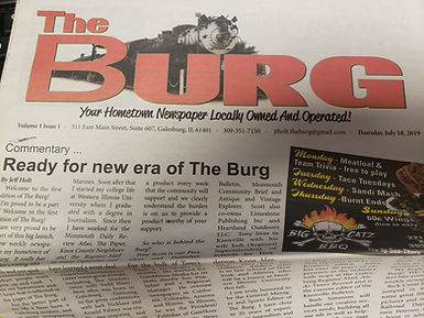 First Edition of The Burg