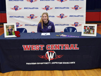 West Central Pitcher Commits to Play Softball at Loras College