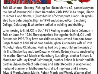 Rodney Dean Morris Obituary