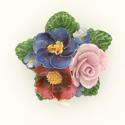 Costume flower pin