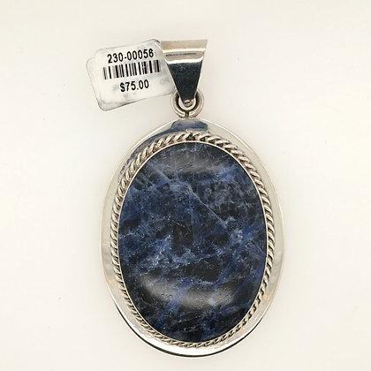 Sodalite pendant