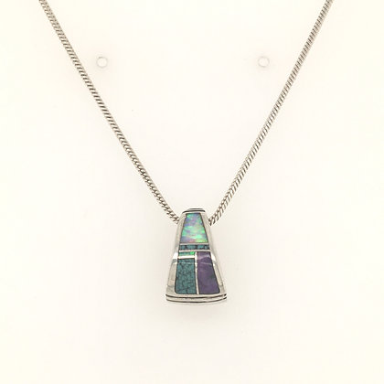 Inlay necklace