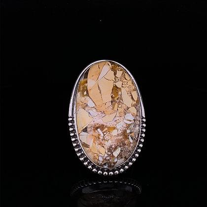 Jasper conglomerate ring