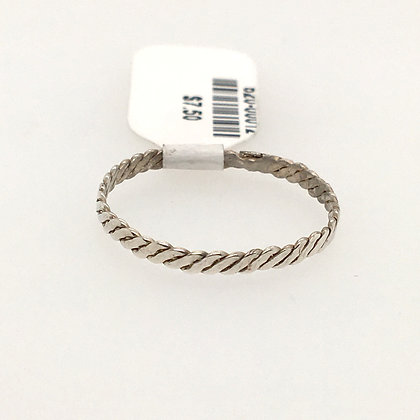 Wire twisted ring