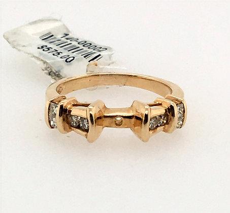 Diamond ring semi-set