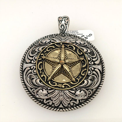 Texas star pendant