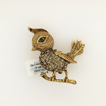 Costume bird pin