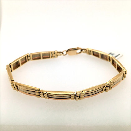 3-toned bracelet