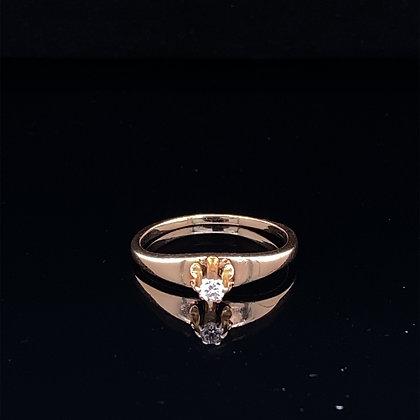 Little diamond ring