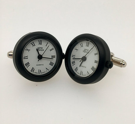 Clock cuff links