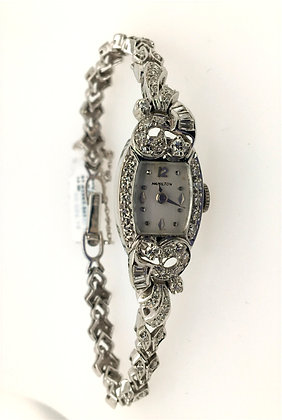 Ladies Hamilton diamond watch