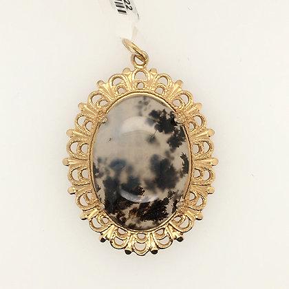 Lace jasper pendant