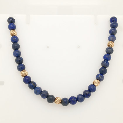 Lapis lazuli necklace strand
