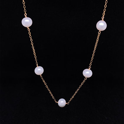 By the inch pearl necklace