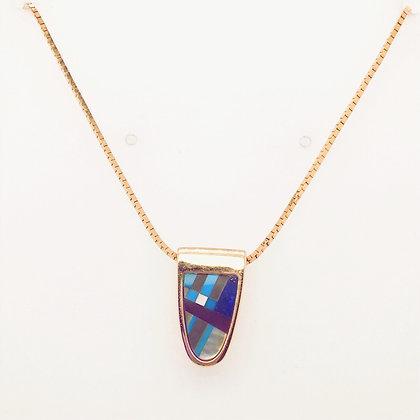 Inlay necklace