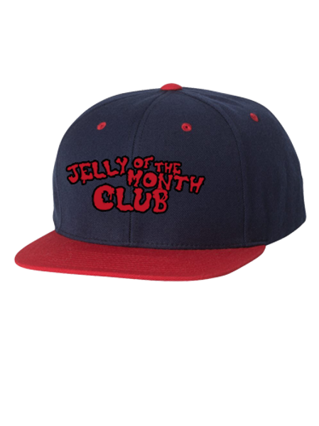 Jelly of the Month Club Adult Snapback Royal/Red