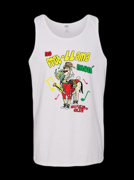 Jelly Llama TANK TOP White
