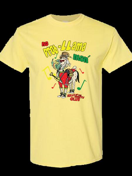 Jelly Llama T-shirt Yellow