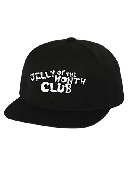 Jelly of the Month Club Adult Snapback Black/White