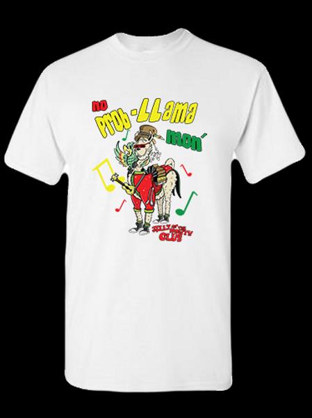 Jelly Llama T-shirt White