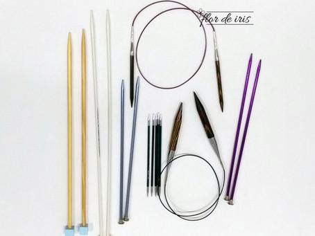 Como escolher agulhas de tricô