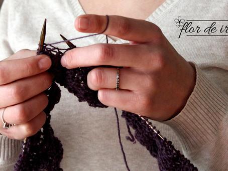4 passos para aprender tricô de vez