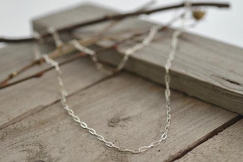 Silberkette lang