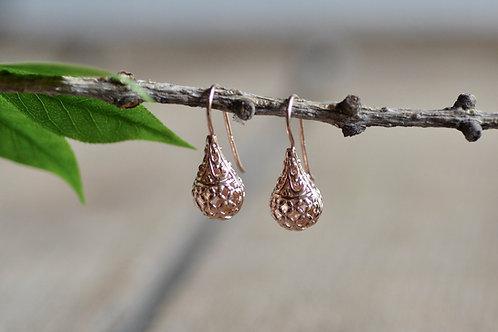 Ohrhänger Tropfen Ornament