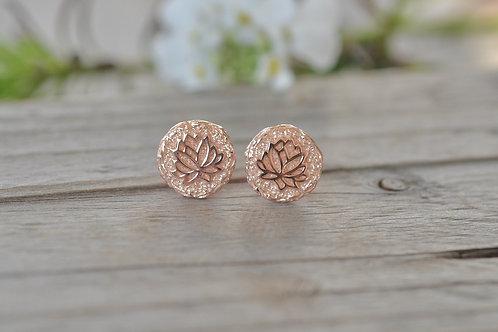 Ohrstecker Lotusblüte