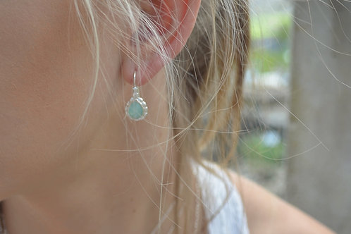 Ohrhänger mit Stein