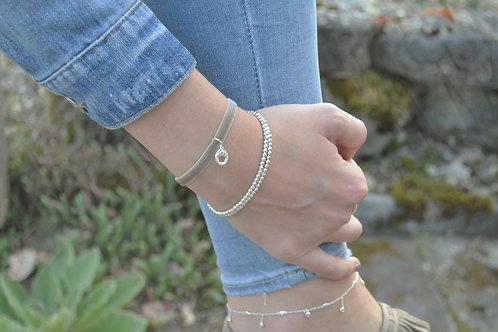 Armband mit Krönchen-Anhänger