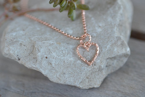 Halsketteli mit Herzli