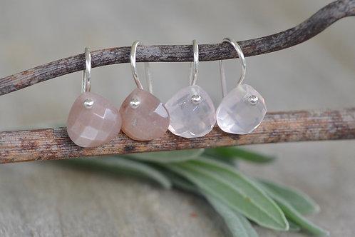 Ohrhänger mit Stein klein