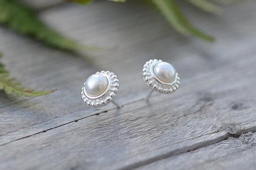 Ohrstecker Perle