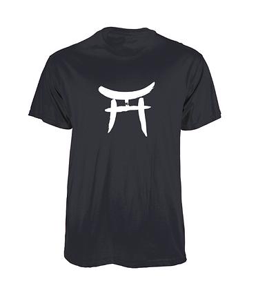 Torii/Ensō T-shirt - BLACK