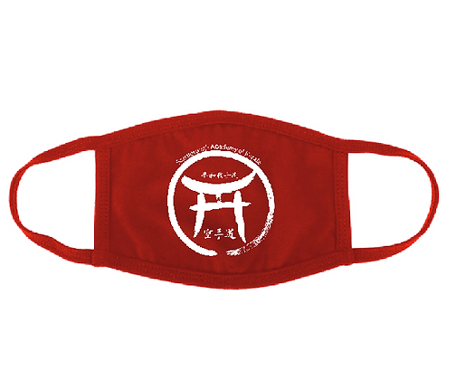 Red Dojo face mask