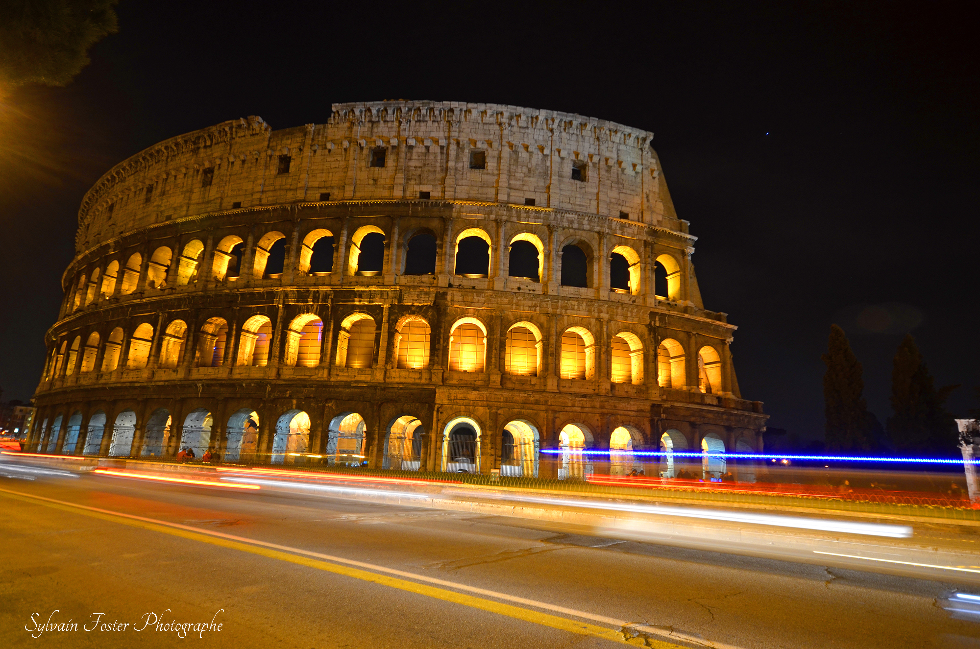 Le Colisé de Rome, Italie
