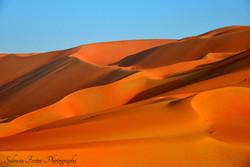Désert Empty Quarter, Émirates Arabe