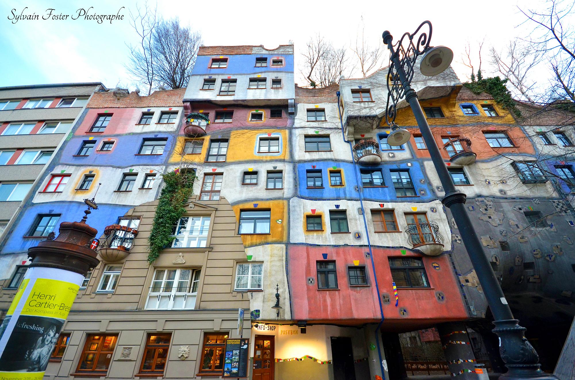 Hundertwasserhaus, Vienne, Autriche