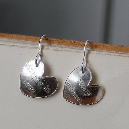 Great Gatsby Drop Earrings - 'Deeper in Love'