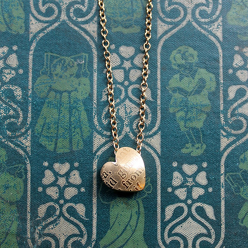 Gold-plated Sonnets Pendant
