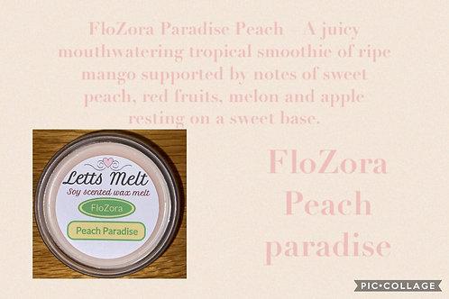 FloZora Peach  Paradise