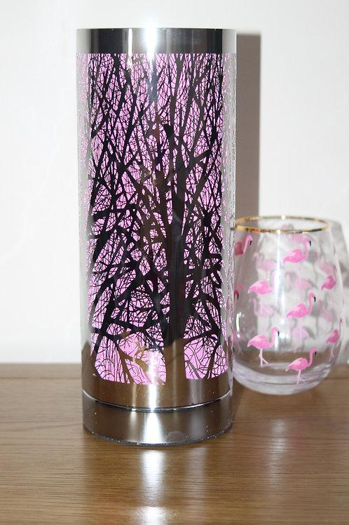 Pink Sliver tree design